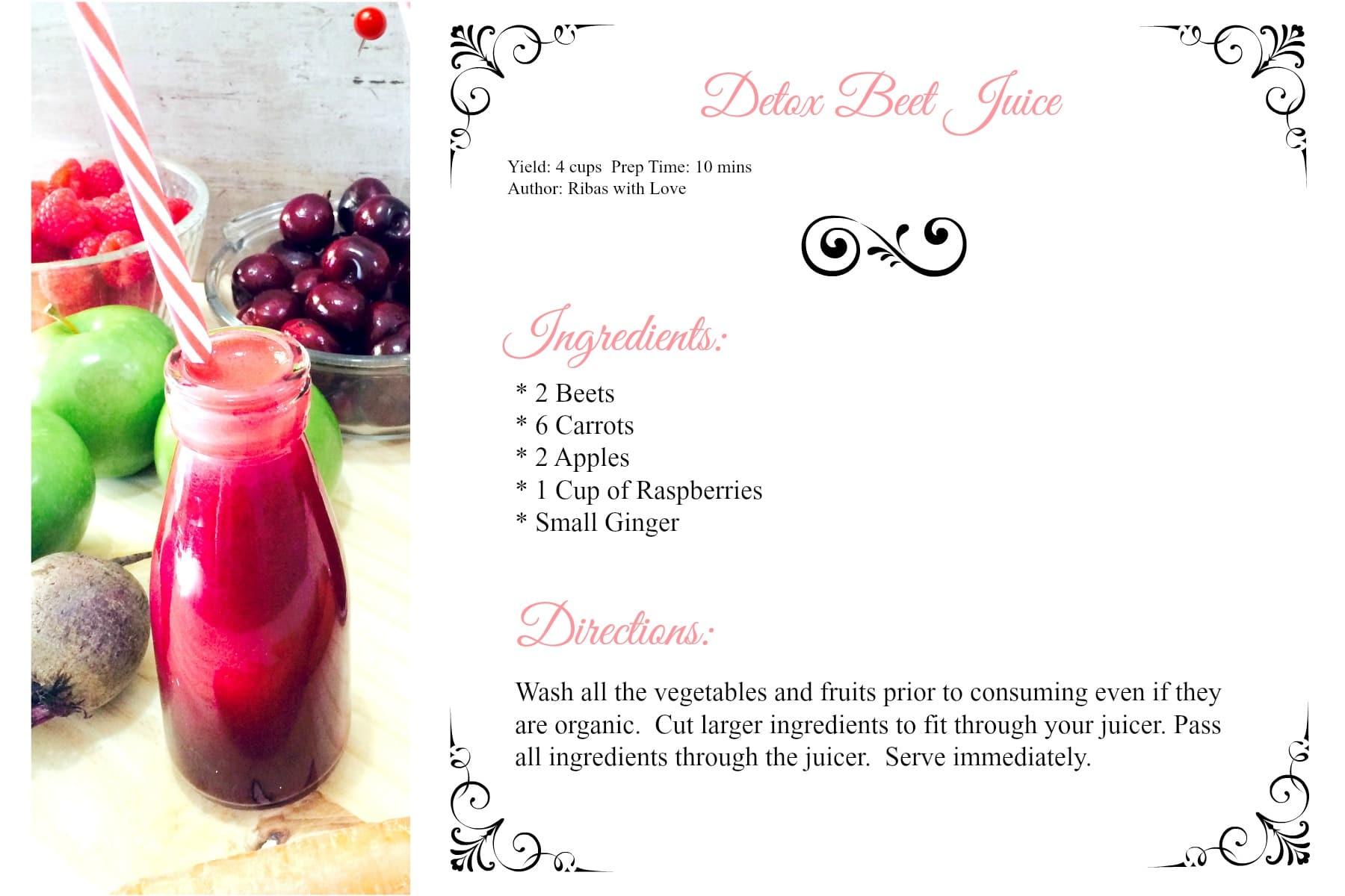 how to drink beet juice