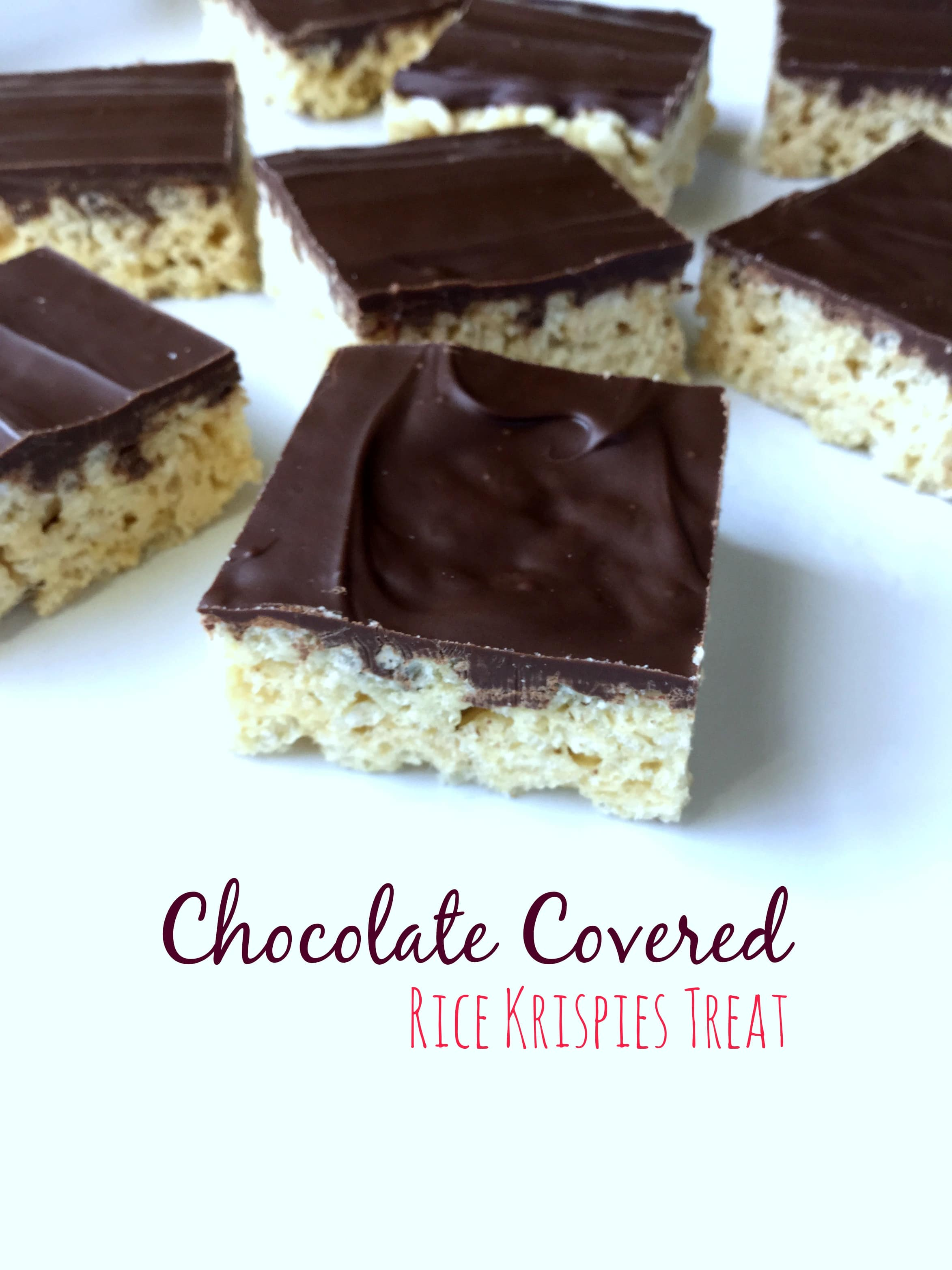 These chocolate covered rice krispies are a great easy treat for everyone!