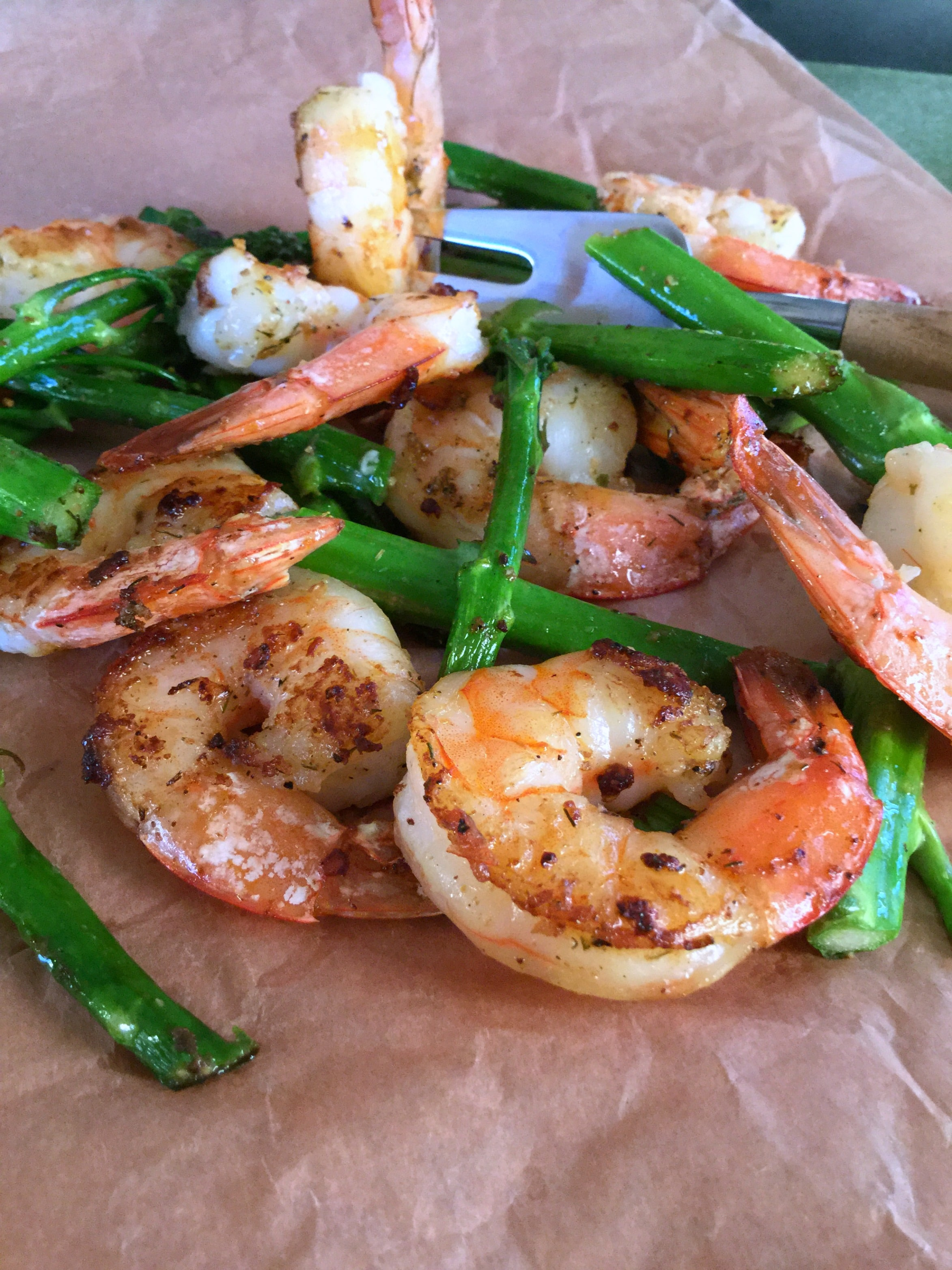 5 Minutes Shrimp Skillet is simply delicious