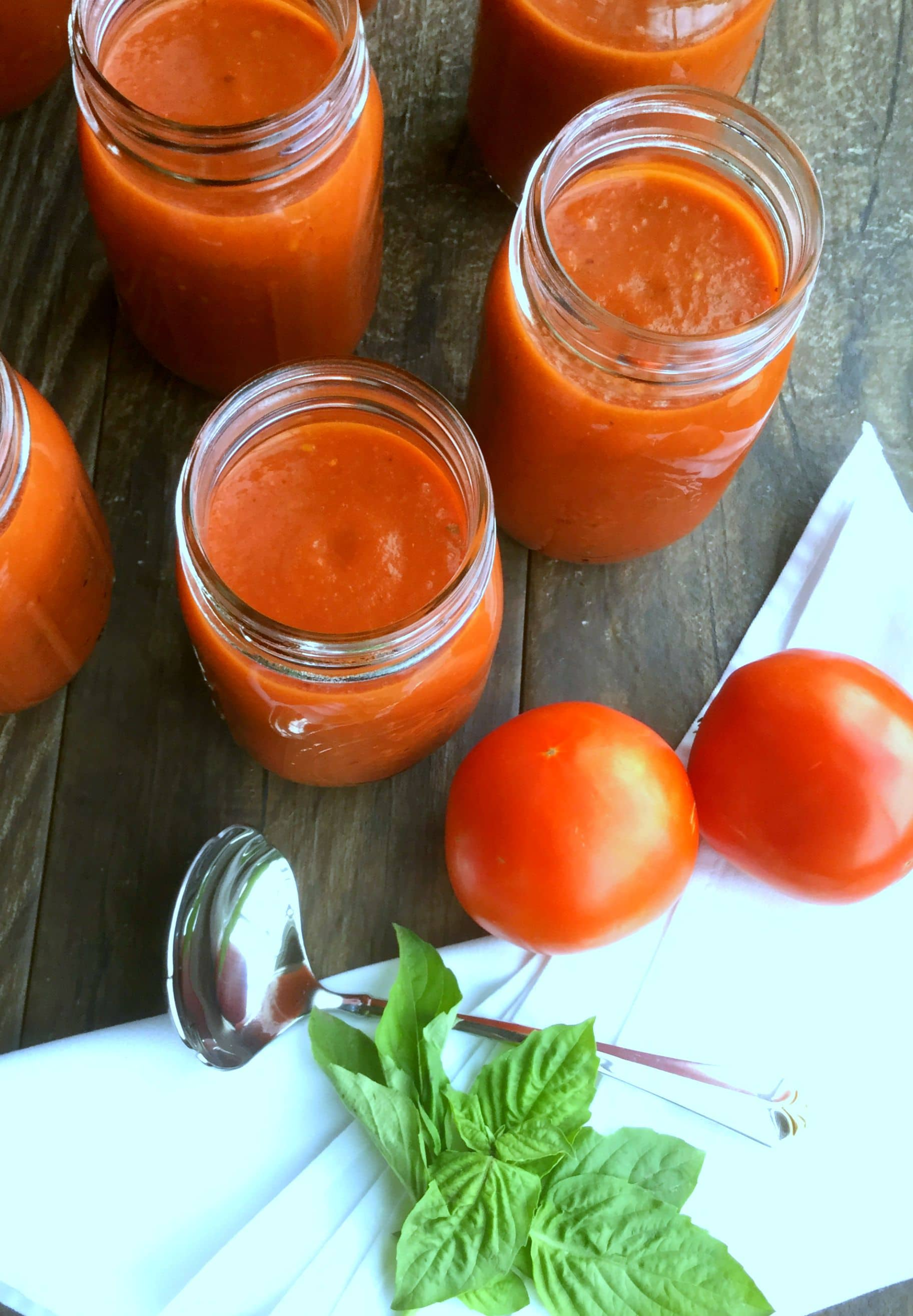 The ultimate signature roasted tomatoes sauce, flavorful in taste and rich in consistency. Make this easy sauce to use in hundreds of meals, or store and enjoy later.