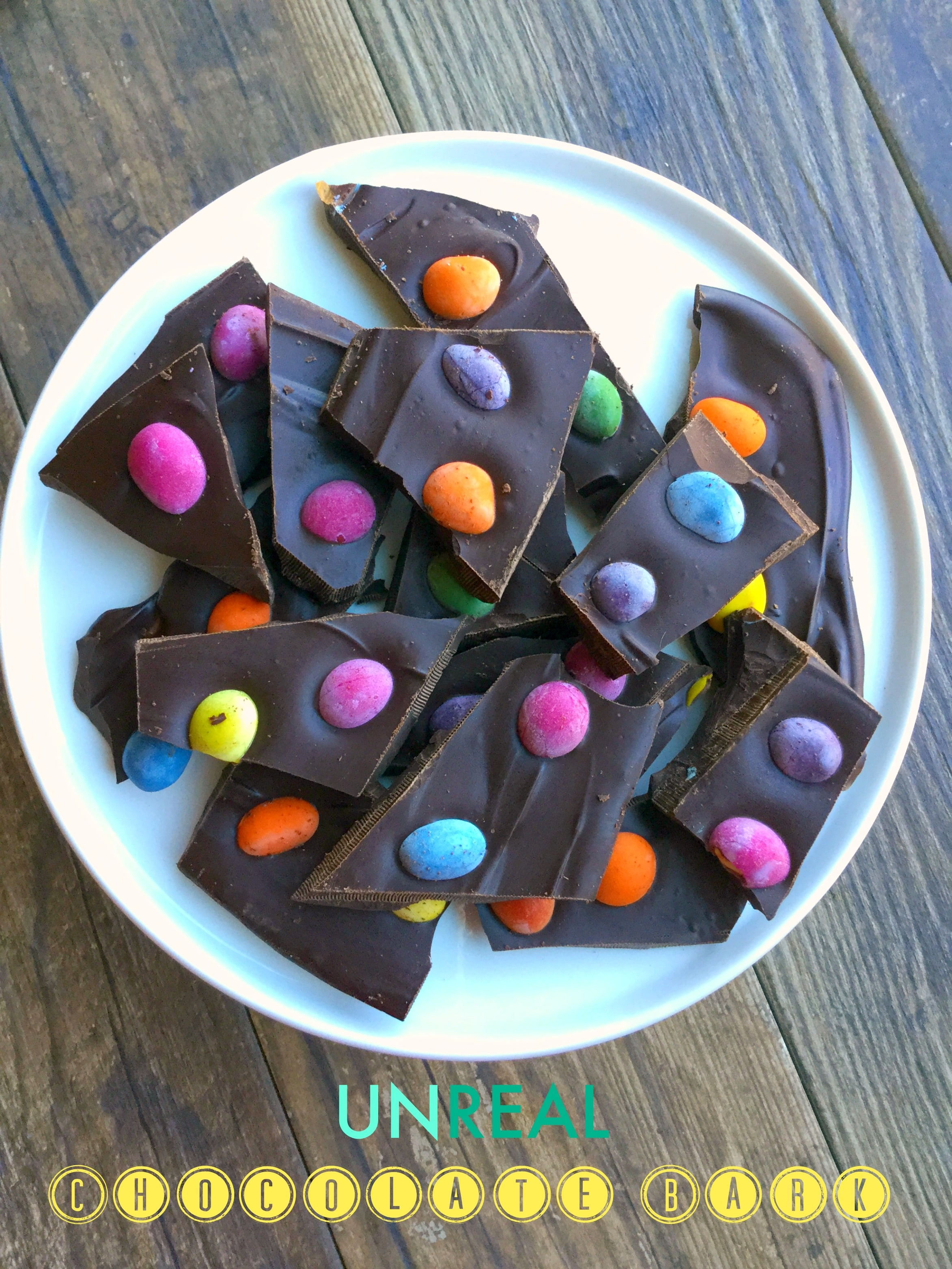 There is now a better way to eat your chocolate and your candy. I am happy to share the UNREAL candy through this special yummy recipe