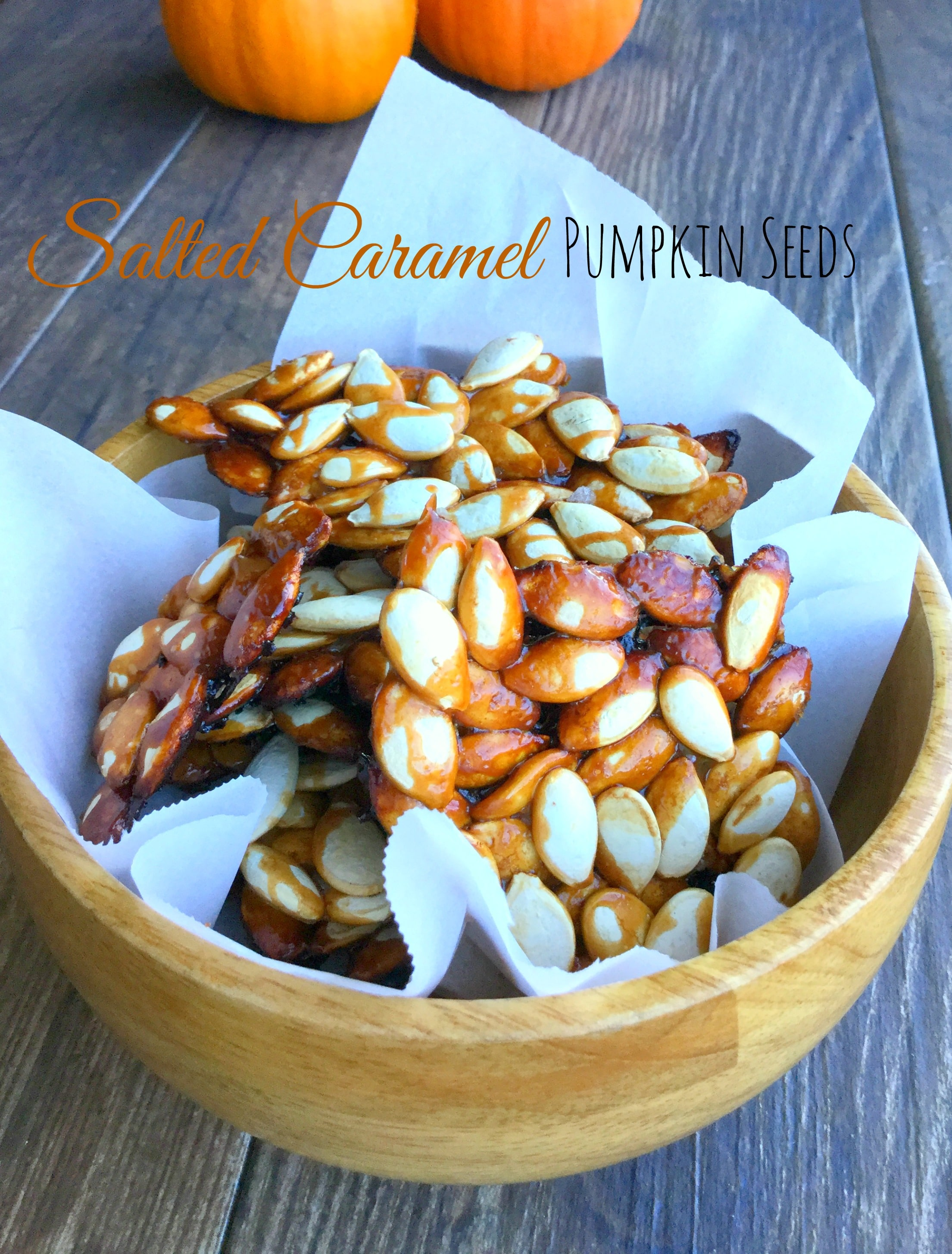 This sweet and salty pumpkin seeds recipe is a fun spin on this classic family recipe.