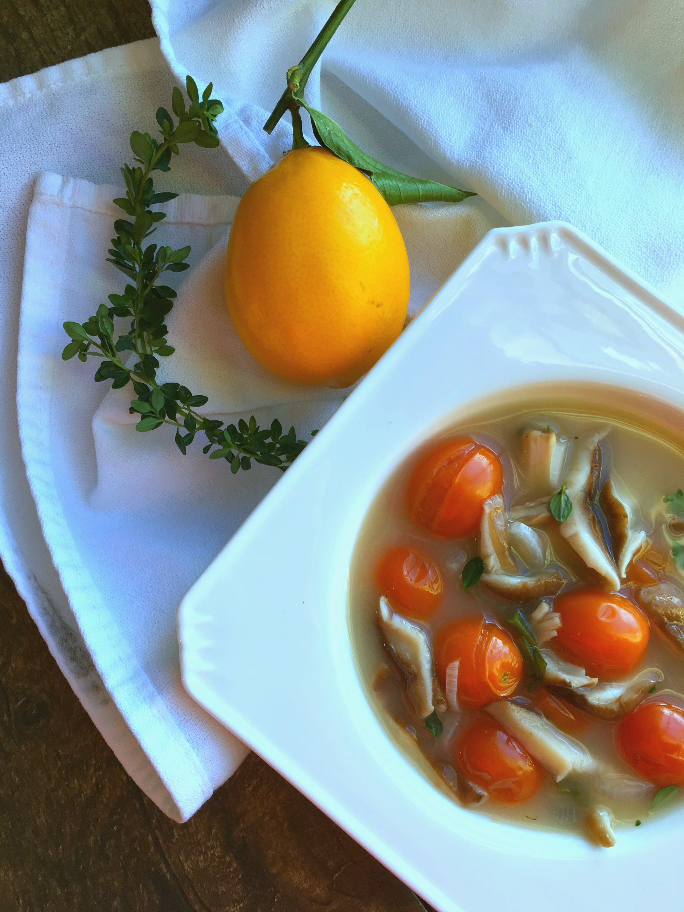 This skinny vegetable soup is a great recipe to enjoy during the winter months when our bodies crave warmth and nutrition