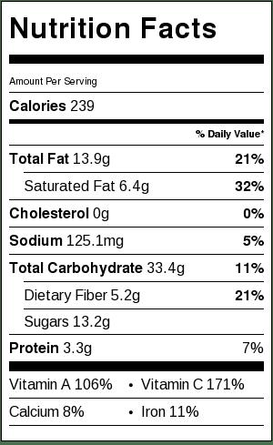 carrot soup label