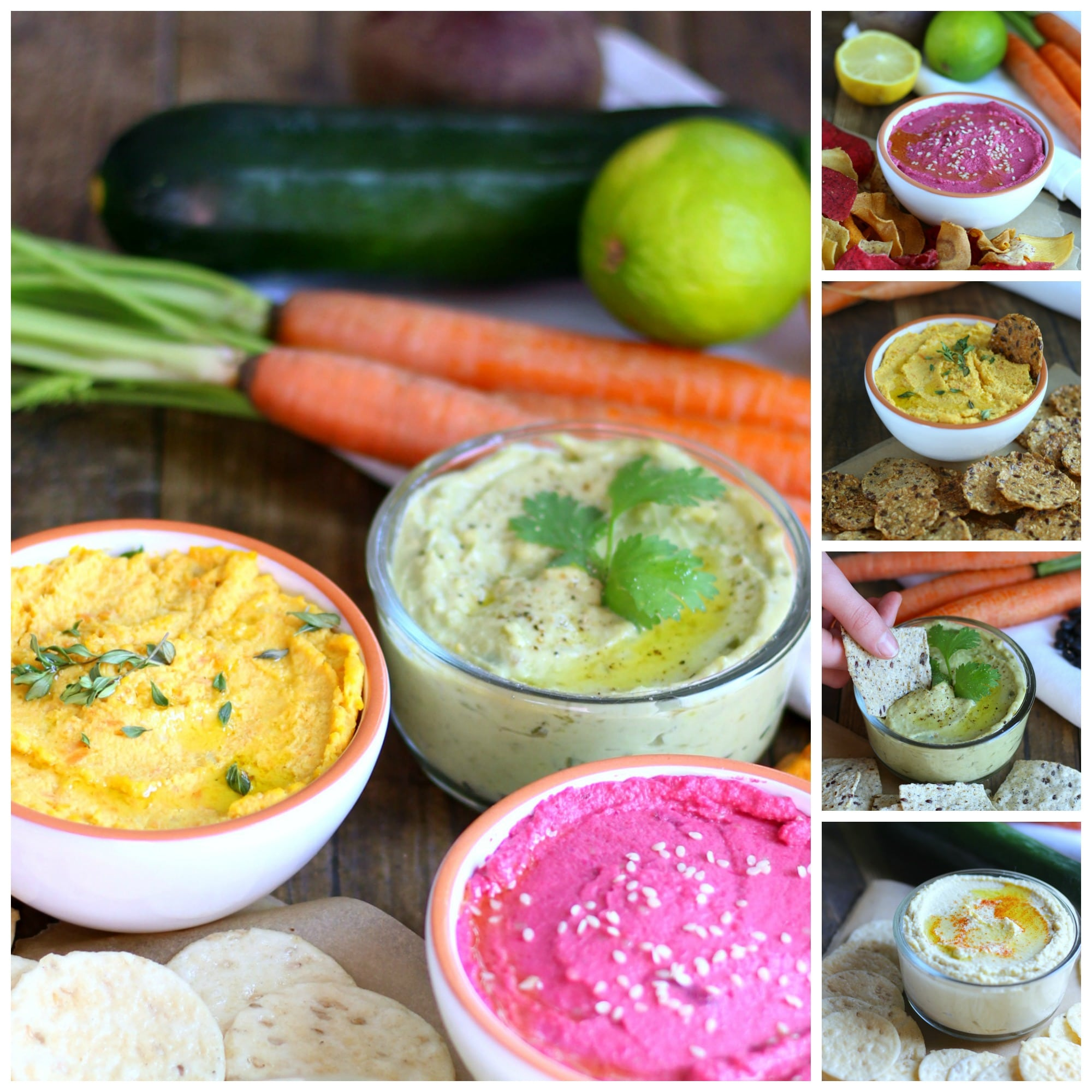 hese hummus recipes were created with you in mind focusing on your dietary needs without compromising the flavor, consistency and overall satisfaction that we all look for in a good hummus.