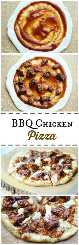 This mouthwatering barbecue chicken pizza is a classic and easy recipe that everyone will love! gardeninthekitchen.com